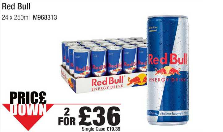 Booker Wholesale Red Bull