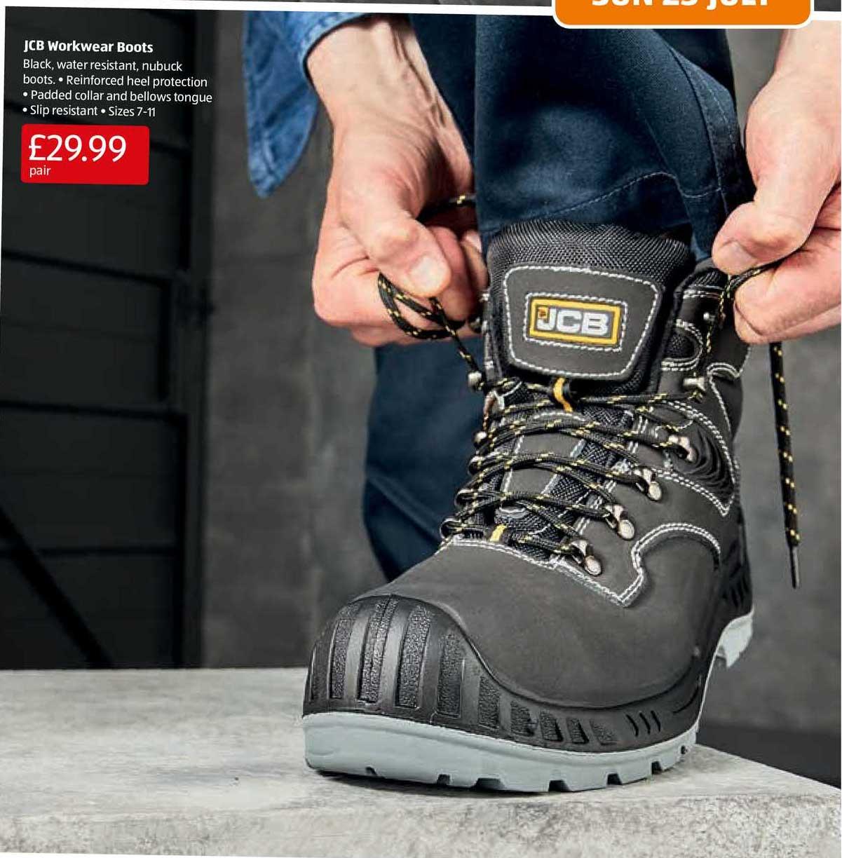 Aldi JCB Workwear Boots