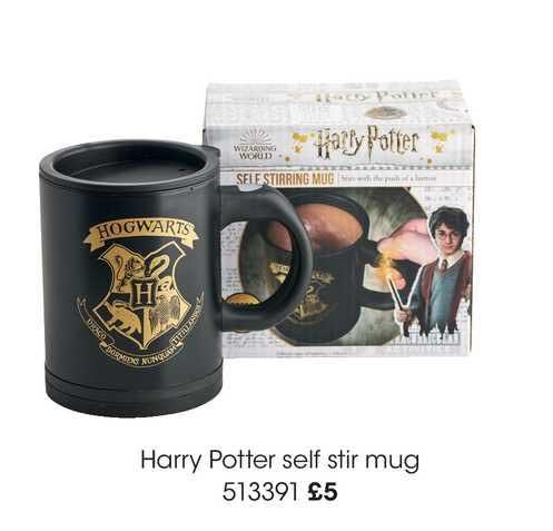 Wilko Harry Potter Self Stir Mug