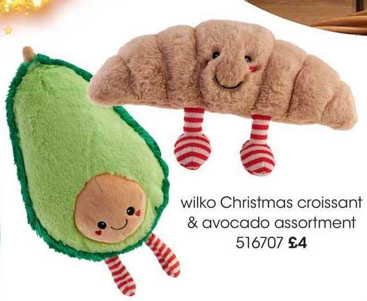 Wilko Wilko Christmas Croissant & Avocado Assortment
