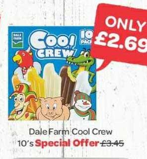 Spar Dale Farm Cool Crew 10's