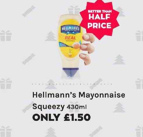 Mace Hellmann's Mayonnaise Squeezy