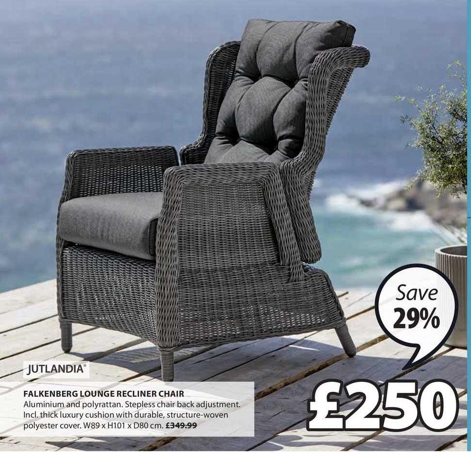 JYSK Jutlandia Falkenberg Lounge Recliner Chair