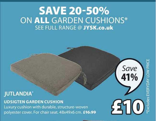 JYSK Jutlandia Udsigten Garden Cushion