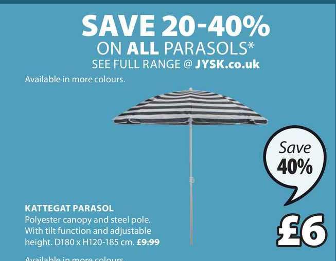 JYSK Kattegat Parasol