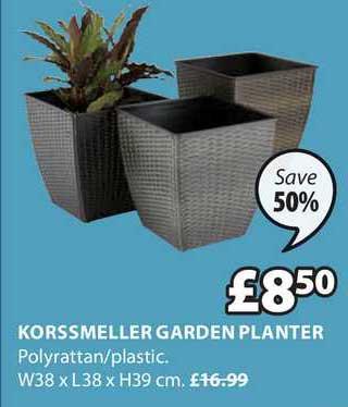 JYSK Korsmeller Garden Planter