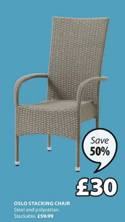 JYSK Oslo Stacking Chair