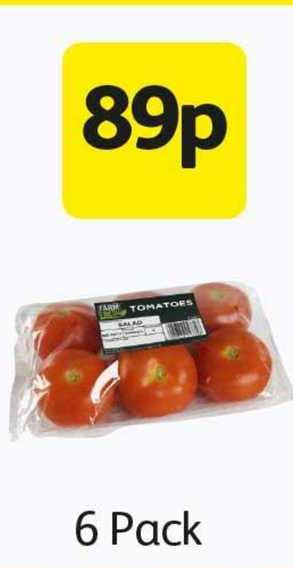 Londis Tomatoes 6 Pack