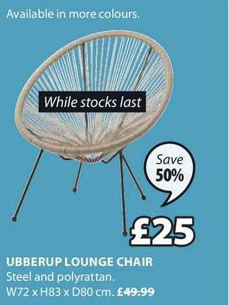 JYSK Ubberup Lounge Chair