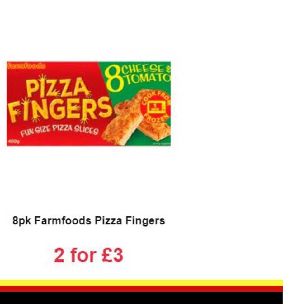 Farmfoods 8pk Farmfoods Pizza Fingers