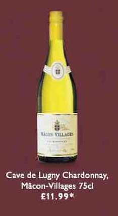 Waitrose Cave De Lugny Chardonnay, Macon-villages