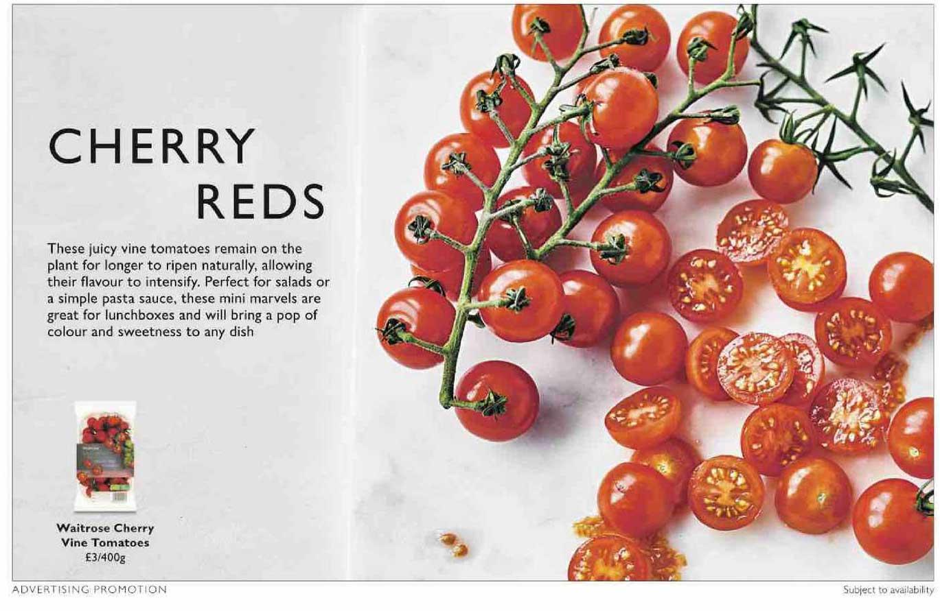 Waitrose Waitrose Cherry Vine Tomatoes