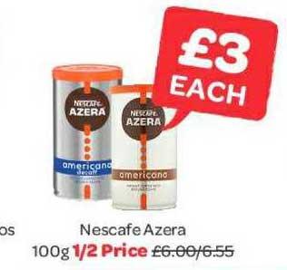 Spar Nescafe Azera