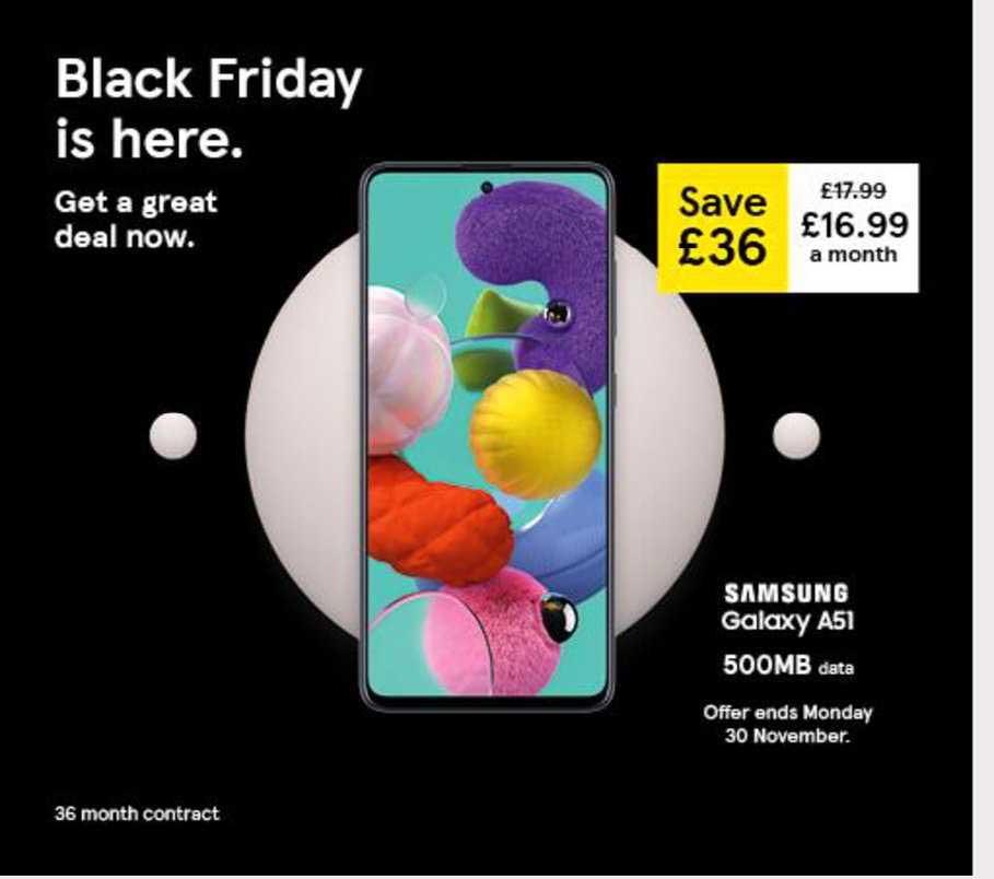 Tesco Samsung Galaxy A51
