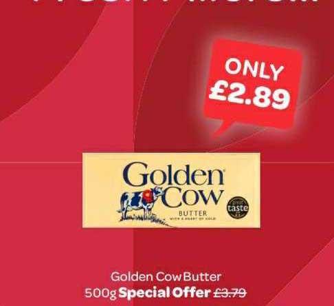 Spar Golden Cow Butter