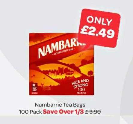 Spar Nambarrie Tea Bags