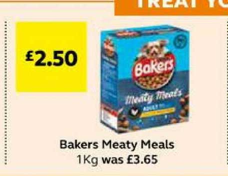SuperValu Bakers Meaty Meals