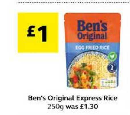 SuperValu Ben's Original Express Rice