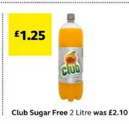 SuperValu Club Sugar Free