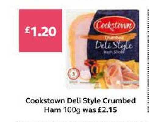 SuperValu Cookstown Deli Style Crumbed Ham