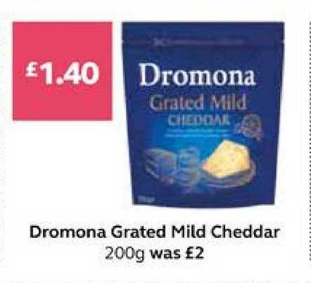 SuperValu Dromona Grated Mild Cheddar