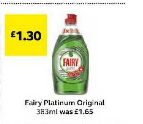 SuperValu Fairy Platinum Original