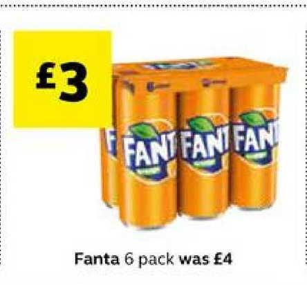 SuperValu Fanta 6 Pack