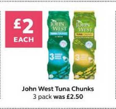 SuperValu John West Tuna Chunks