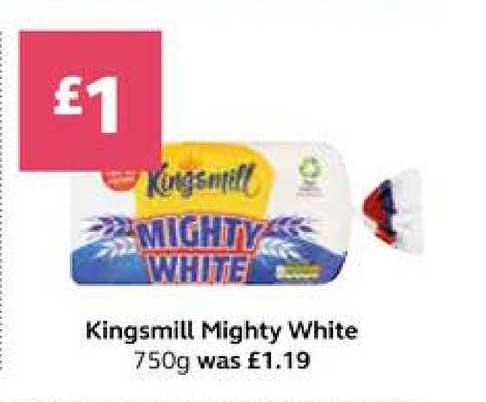SuperValu Kingsmill Mighty White