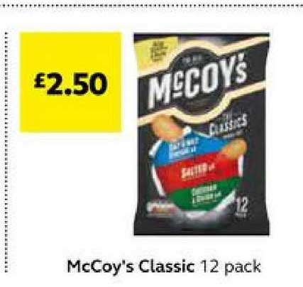 SuperValu Mccoy's Classic