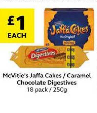 SuperValu Mcvitie's Jaffa Cakes Caramel Chocolate Digestives