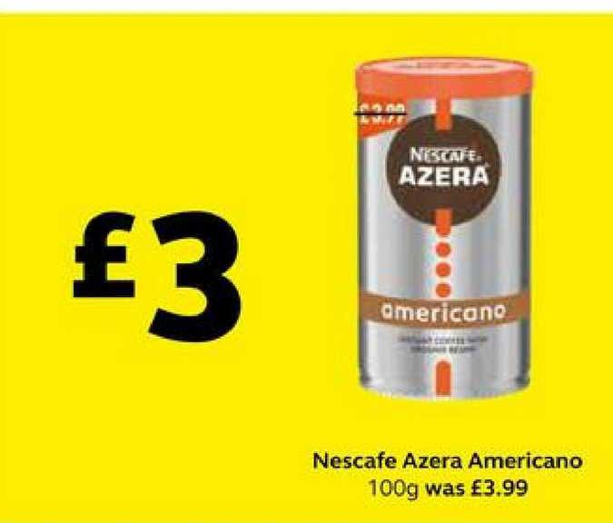 SuperValu Nescafe Azera Americano