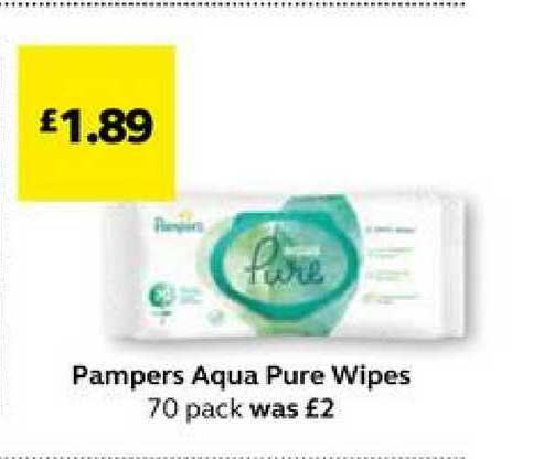 SuperValu Pampers Aqua Pure Wipes