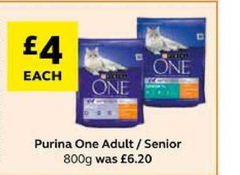 SuperValu Purina One Adult Senior