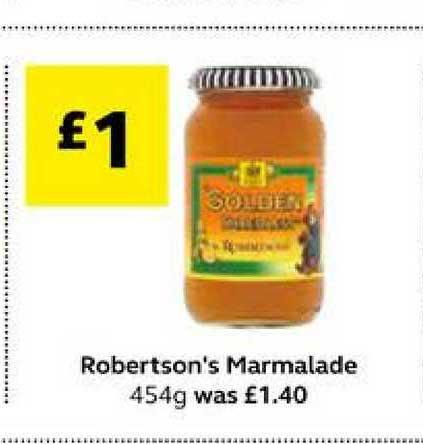 SuperValu Robertson's Marmalade