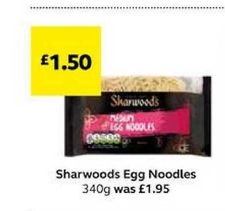SuperValu Sharwoods Egg Noodles