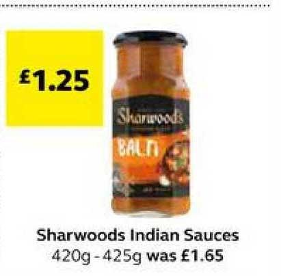 SuperValu Sharwoods Indian Sauces
