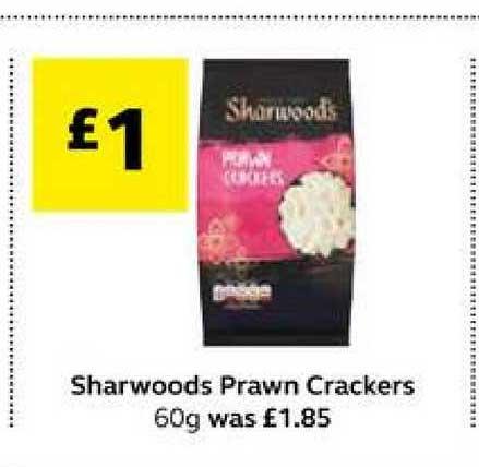 SuperValu Sharwoods Prawn Crakers