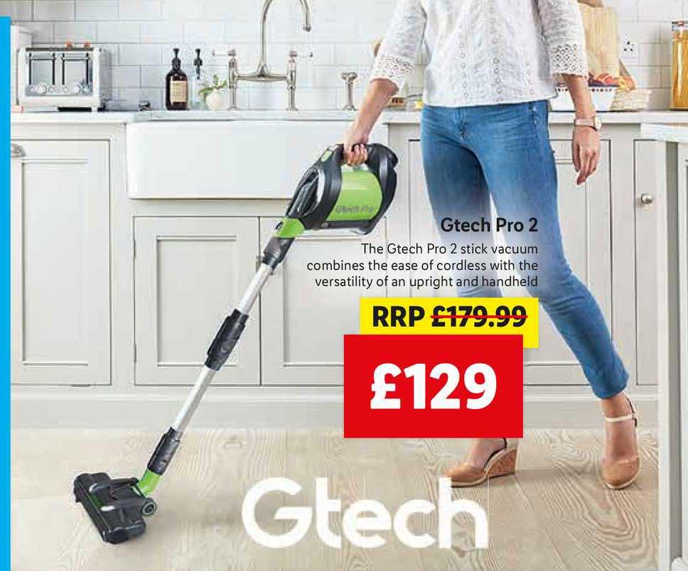 Lidl Gtech Pro 2 Stick Vacuum