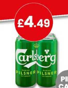 Bargain Booze Carlsberg