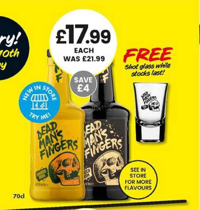 Bargain Booze Dead Man's Fingers