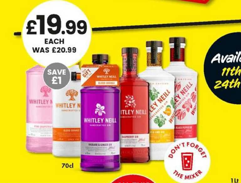 Bargain Booze Whitley Neill