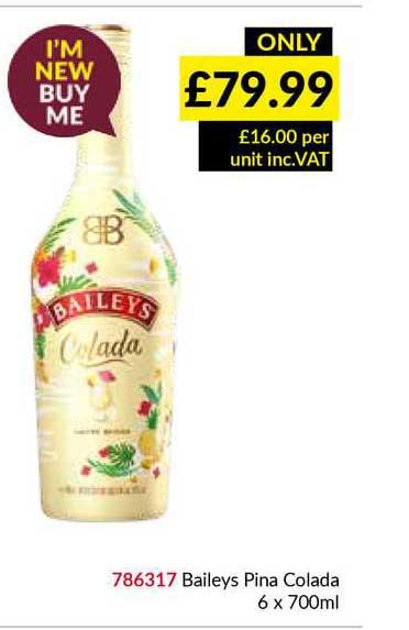 Musgrave MarketPlace Baileys Pina Colada