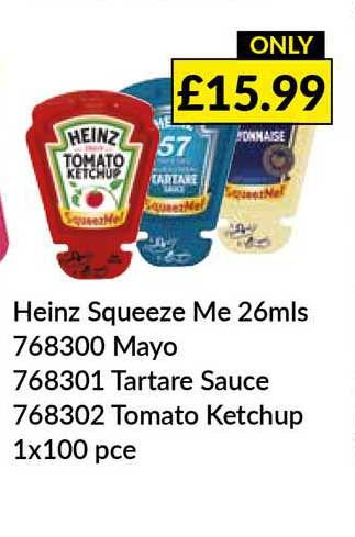 Musgrave MarketPlace Heinz Squeeze Me