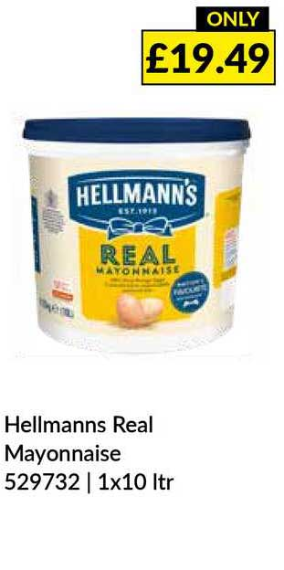 Musgrave MarketPlace Hellmanns Real Mayonnaise