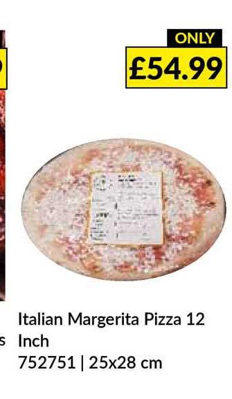 Musgrave MarketPlace Italian Margerita Pizza 12 Inch