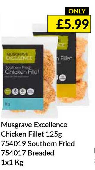 Musgrave MarketPlace Musgrave Excellence Chicken Fillet