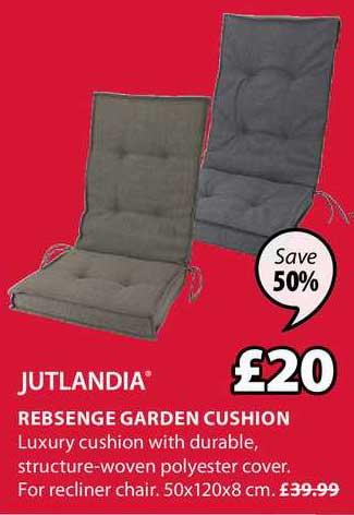 JYSK Jutlandia Rebsenge Garden Cushion