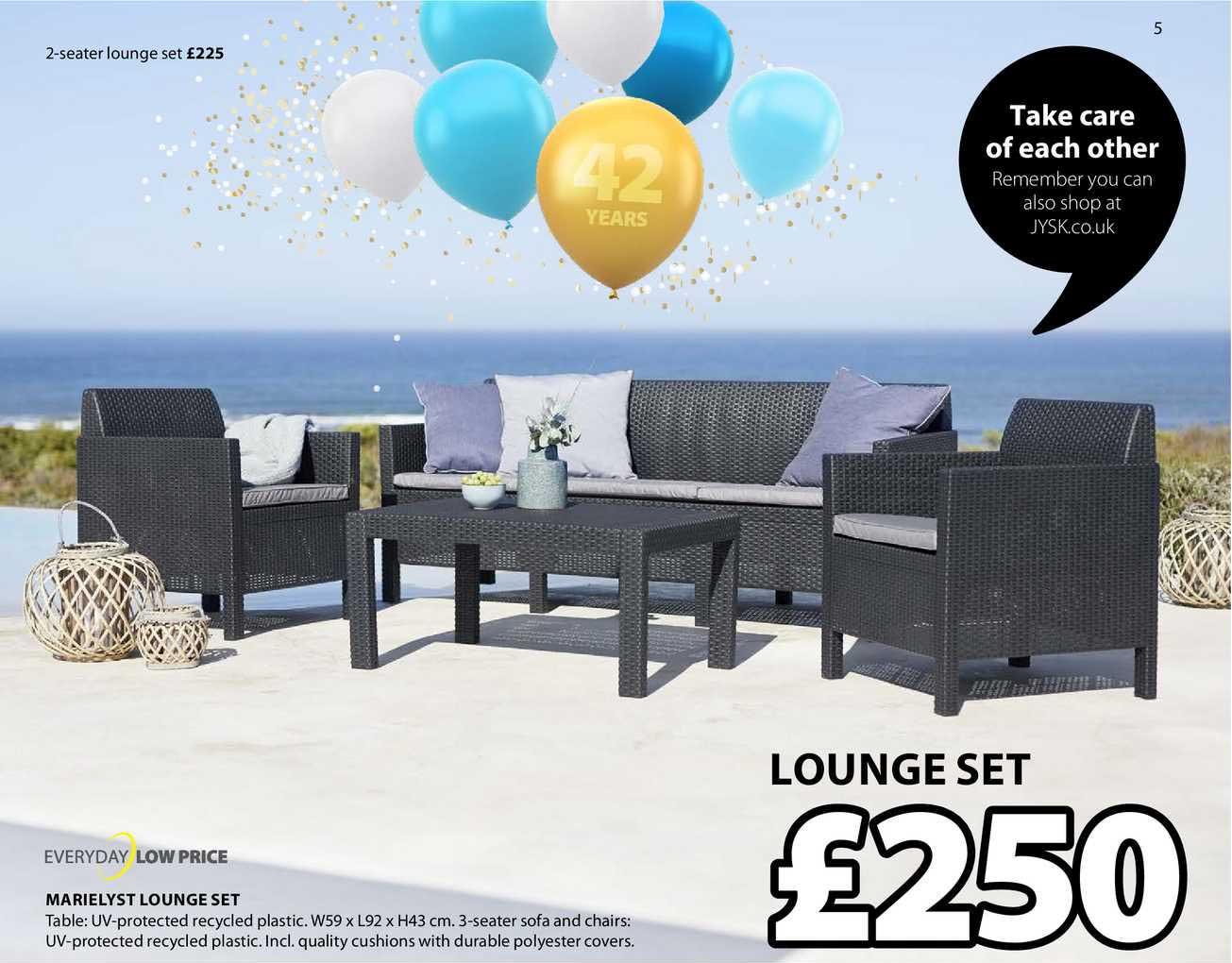 JYSK Marielyst Lounge Set