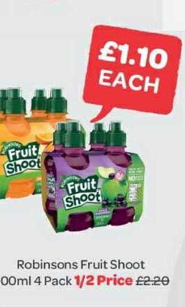 Spar Robinsons Fruit Shoot
